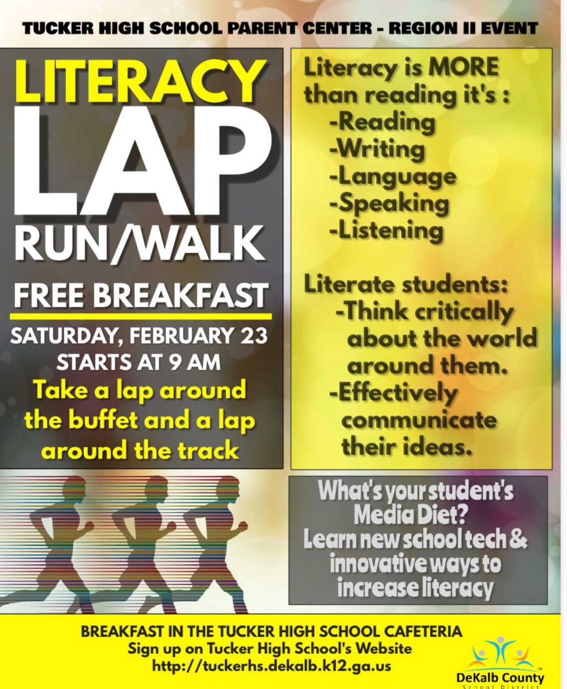 Literacy Lap