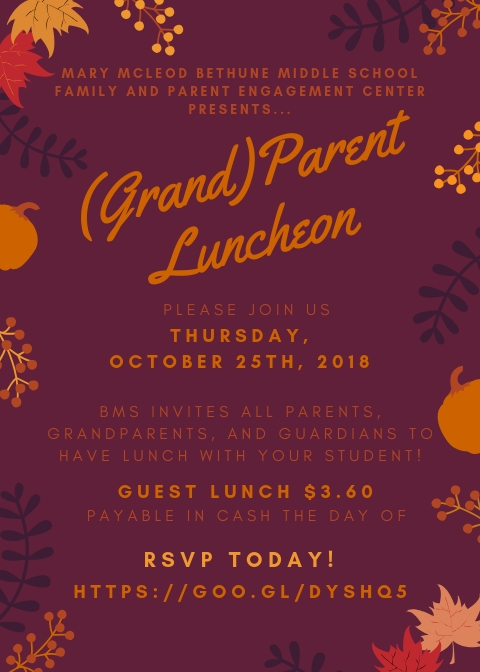 parent luncheon