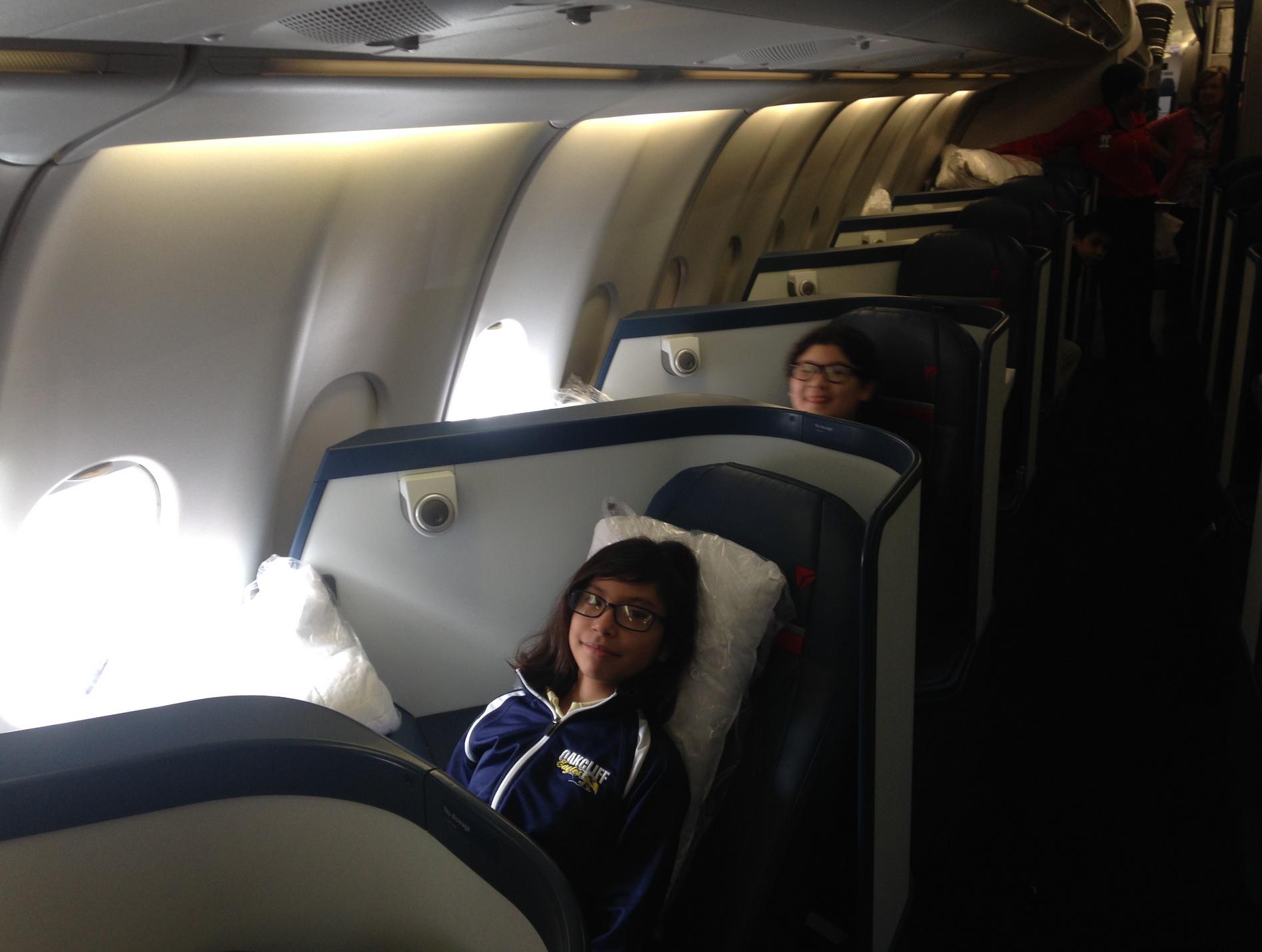 ATL Field Trip Inside Plane