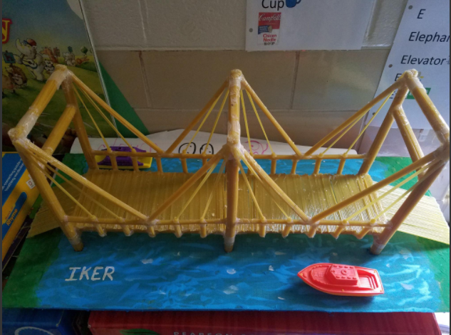 Iker STEM Build Bridge