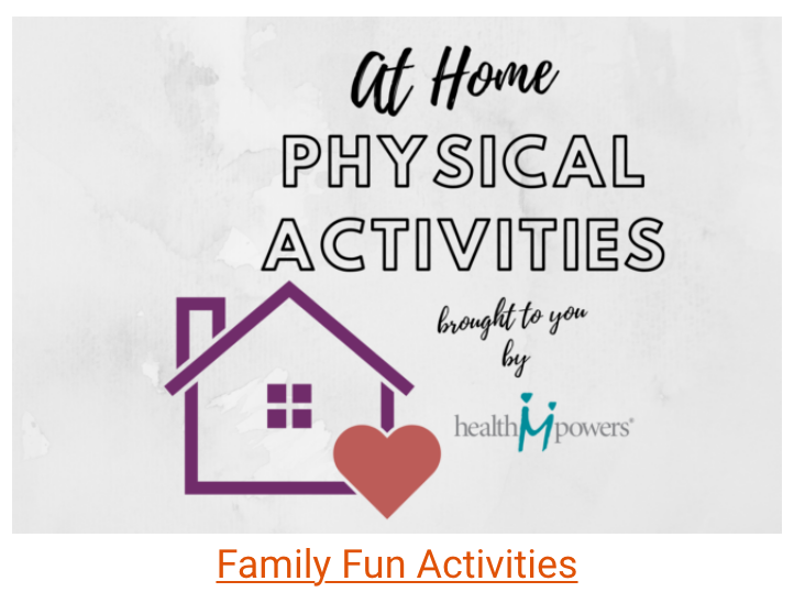 At Home Physical Activities