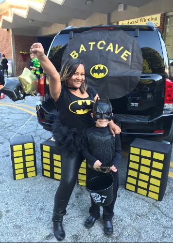 Ms Jatan Batman costume