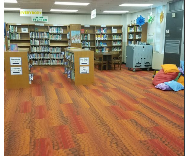 library carpet Ms Handley