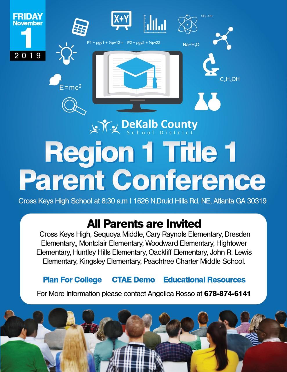 Region 1 Title I Flyer Eng