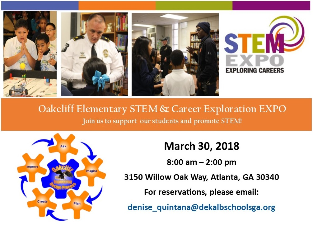 Career Day STEM Expo Advertisement