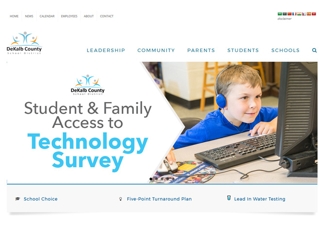 Link to Student and Family Technology Survey